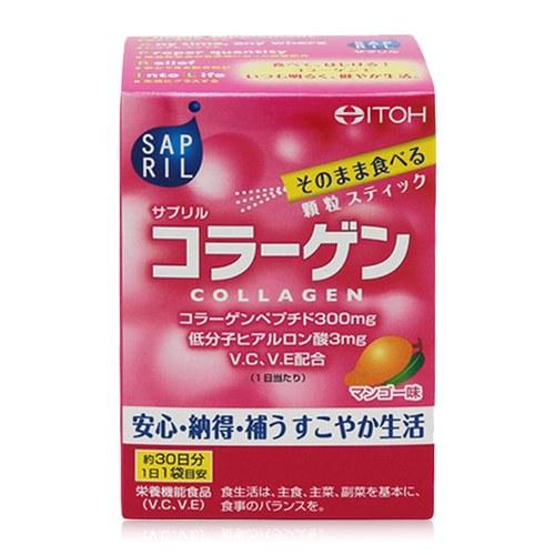 Bột Uống Collagen Dưỡng Trắng Da Itoh Sapril Collagen