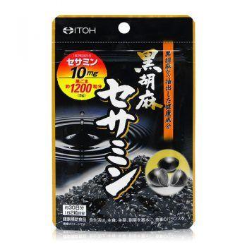 Viên Uống Mè Đen Itoh Black Sesame Sesamin Của Nhật
