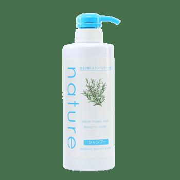 Dầu Gội Naris Nature Hương Hoa Tự Nhiên Fresh Floral Scent Fragrance Mild Hair Shampoo 500ml