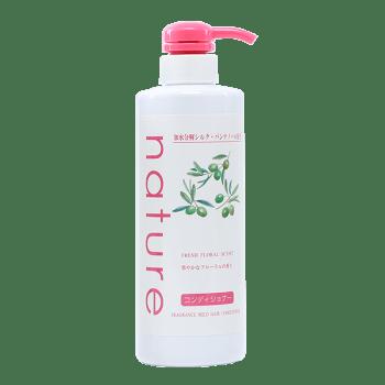 Dầu Xả Naris Nature Dịu Nhẹ Hương Hoa Tươi Mát Fresh Floral Scent Fragrance Mild Hair Conditioner 500ml