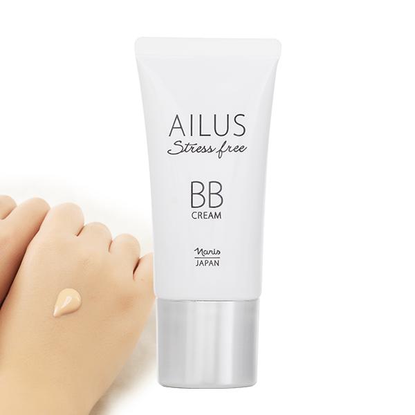 Kem Nền Trang Điểm Đa Chức Năng Ailus Stress Free BB Cream 30g - #02 - Natural Beige