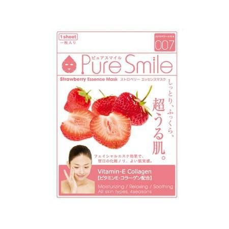 Mat na Naris Puresmile Milky Essence Mask Strawberry N002
