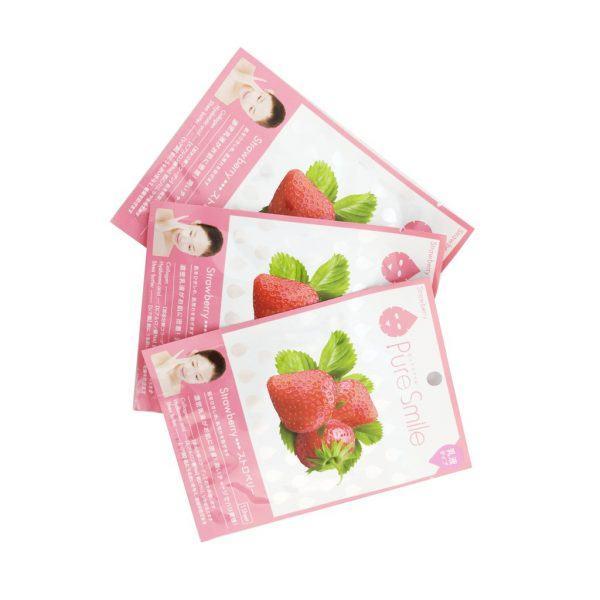Mat na Puresmile Milky Essence Mask Strawberry N002