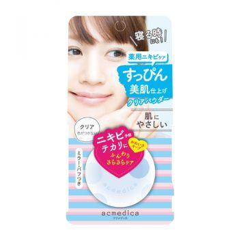 Phấn Phủ Naris Acmedica Oil Control Powder WH Clear SPF40 PA++
