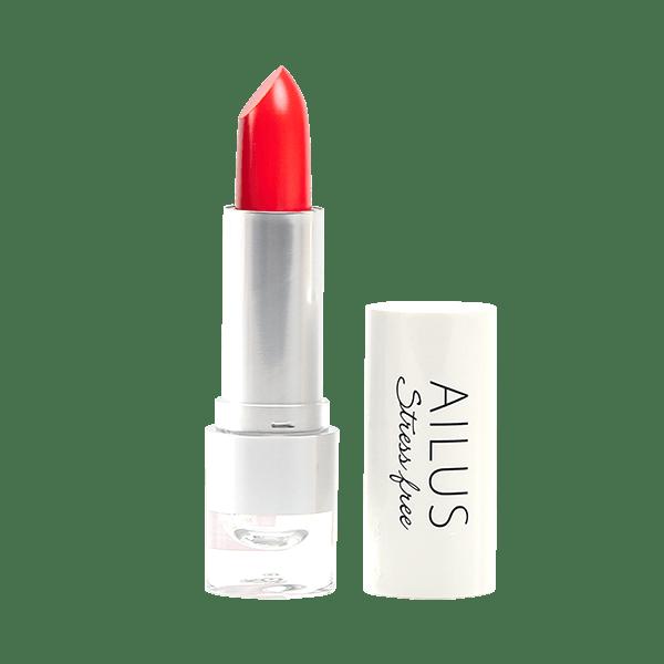Son Lì Mịn Môi Ailus Stress Free Lipstick 4g #02 - Đỏ cam