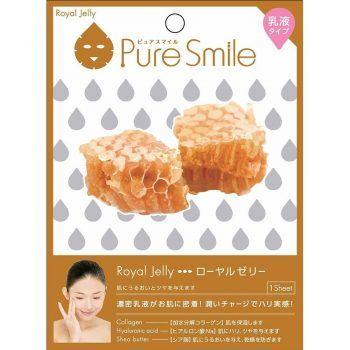 Mặt Nạ Dưỡng Da Với Chiết Xuất Sữa Ong Chúa – Puresmile Milky Essence Mask – Royal Jelly