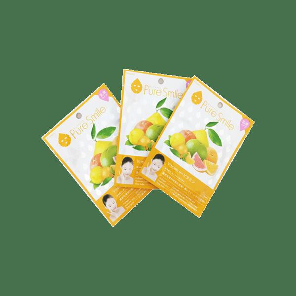 Mat na Puresmile Milky Essence Mask Vitamin N004