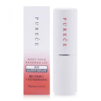 Son Dưỡng Ẩm Chống Nhăn Naris Medicated Purece Lip Care Stick