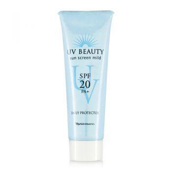 Sữa Chống Nắng Naris Uv Beauty Sun Screen Mild Daily Protector Spf20 Pa+