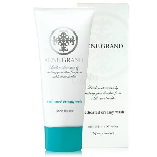 Sua rua mat Acne Grand Medicated Creamy Wash