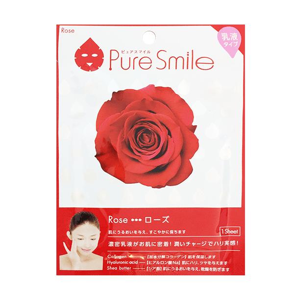 Mặt Nạ Hoa Hồng Puresmile Milky Essence Mask Rose