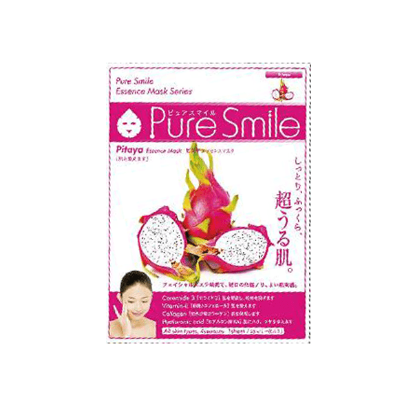 Mặt Nạ Thanh Long Puresmile Essence Mask Pitaya Nhật Bản
