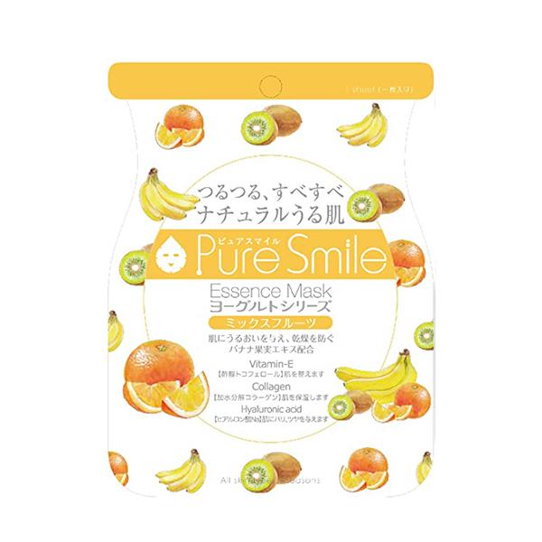Pure Smile Essence Mask Mix Fruit Yoghurt - Mặt Nạ Dưỡng Da Với Chiết Xuất Từ Sữa Chua, Chuối, Kiwi, Dứa