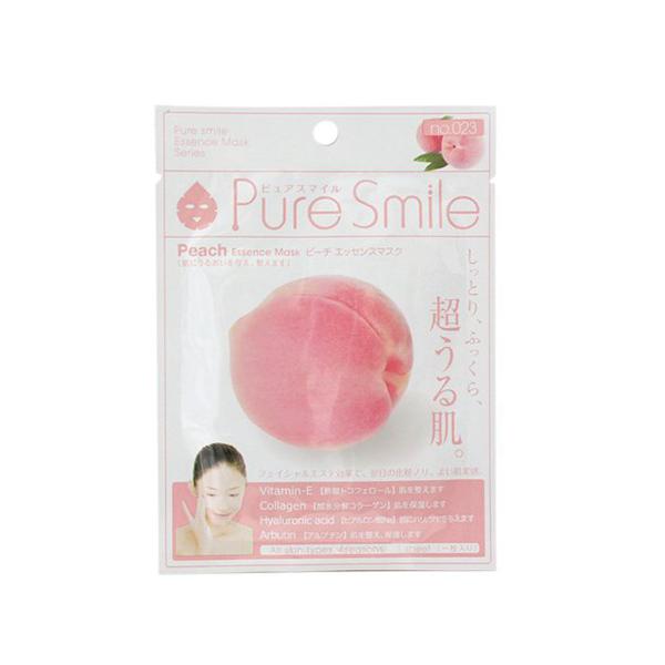 Pure Smile Essence Mask Peach - Mặt Nạ Dưỡng Da Chiết Xuất Từ Đào