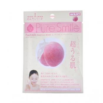 Mặt Nạ Tinh Chất Dưỡng Da Từ Sữa Tươi & Trái Đào Puresmile Essence Mask Peach Milk