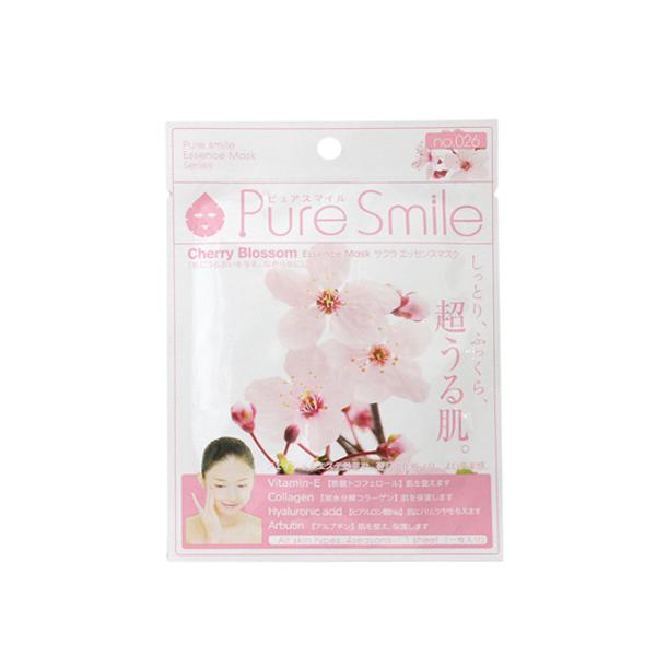 Pure Smile Essence Mask Sakura - Mặt Nạ Dưỡng Sáng Da Chiết Xuất Từ Hoa Anh Đào