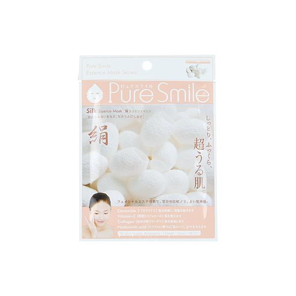 Pure Smile Essence Mask Silk - Mặt Nạ Dưỡng Da Chiết Xuất Từ Tơ Tằm
