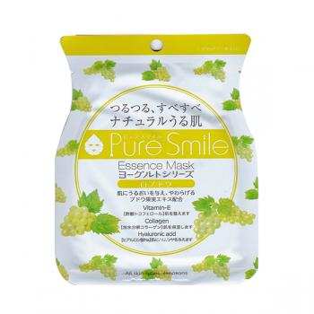 Mặt Nạ Sữa Chua Nho Xanh Dưỡng Trắng Da Puresmile Essence Mask Grape Yoghurt
