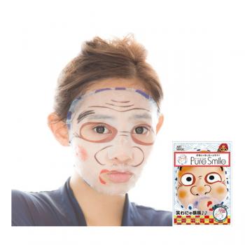 Mặt Nạ Nghệ Thuật Hoa Trà Nhật Bản Puresmile Nippon Art Mask Yakuyokehyottoko