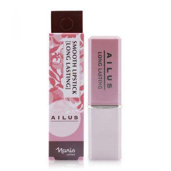 Son Mịn Môi Lâu Trôi Naris Ailus Smooth Lipstick Long Lasting