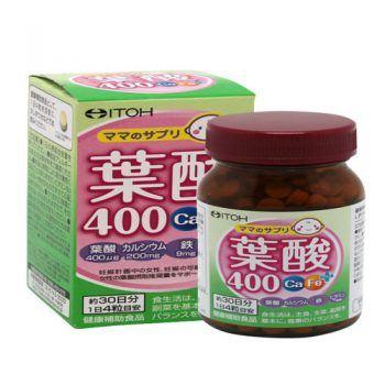 Viên Uống bổ sung Acid Folic – Itoh Acid Folic 400 Ca-Fe Plus