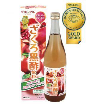 Nước Uống Itol Dấm Lựu Vinepple Pomegranate Black Vinegar Drink