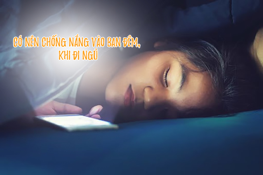 có nên chống nắng vào ban đêm trước khi đi ngủ