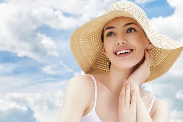 bôi kem chống nắng đúng cách để không bị vệt trắng trên da