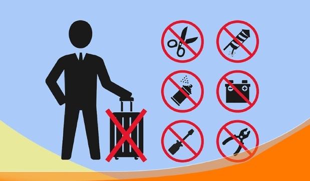 Hành lý bị cấm mang lên máy bay