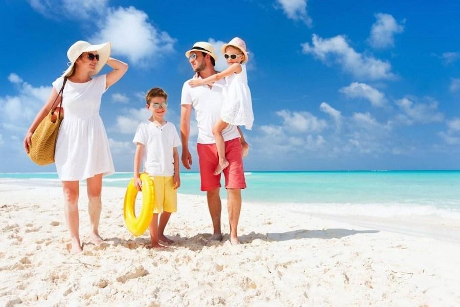 Kem chống nắng đi biển cho nam, nữ trẻ em
