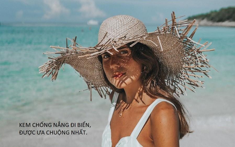 kem chống nắng đi biển được ưa chuộng nhất
